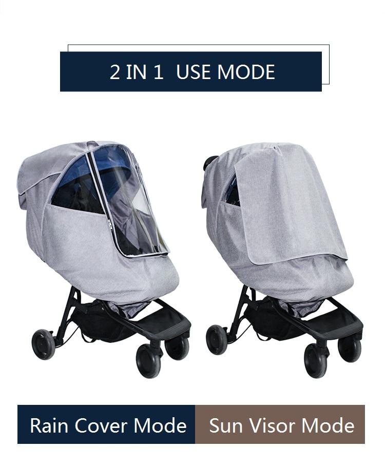 chuva com manter quente função bebê trolley