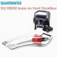 Shimano Ultegra Di2 R8050 braze on Front Derailleur Road Bike Bicycle Parts Original Derailleur free shipping
