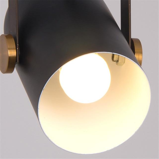 Фото светодиодный комнатный современный геометрический светильник