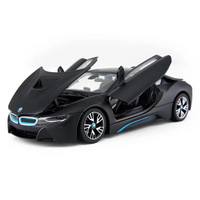 RASTAR 1:24 BMW I8 alloy car model Diecasts & Toy Vehicles Collect gifts Non remote control type transport toy