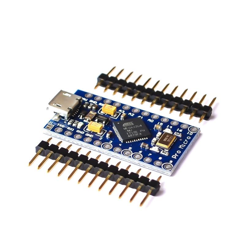 5PCS/LOT Pro Micro With Atmega32U4 Own Usb Update 5V/16M Microcontroller Development Board