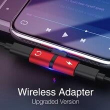 2 в 1, два порта, адаптер для наушников для iPhone 7, 8 plus, XXS, разветвитель, зарядное устройство для наушников, аудио адаптер для lightnIng, конвертер