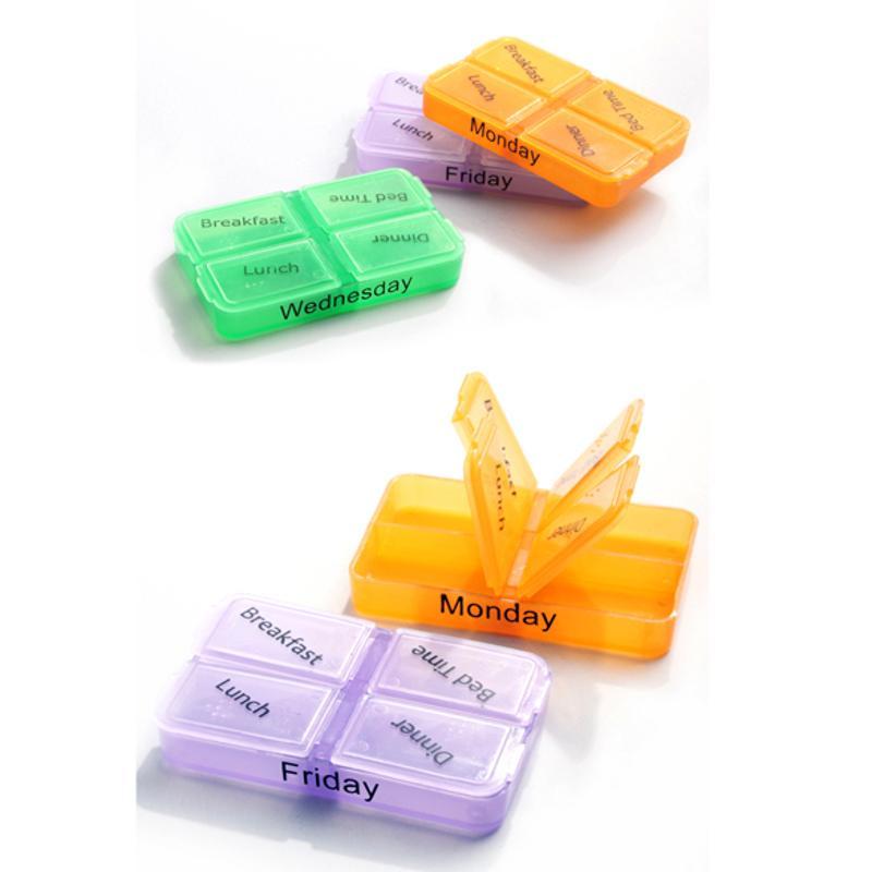 Pill Cases Portable Convenient Drug Box Tablet Cutter Splitter Medicine Holder box pillendoosje