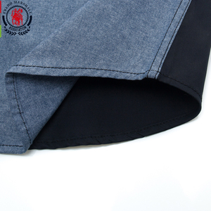 Image 4 - Fredd Marshall 2020 Spring New Patchwork Shirt Men Casual Social Long Sleeve Dress Shirt Male 100% Cotton Color Block Shirts 215