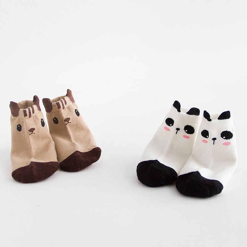 Nan tong House Baby Socks Spring And Autumn 0-1-3 Children WOMEN'S Socks Cartoon Tube Male Baby Floor Socks
