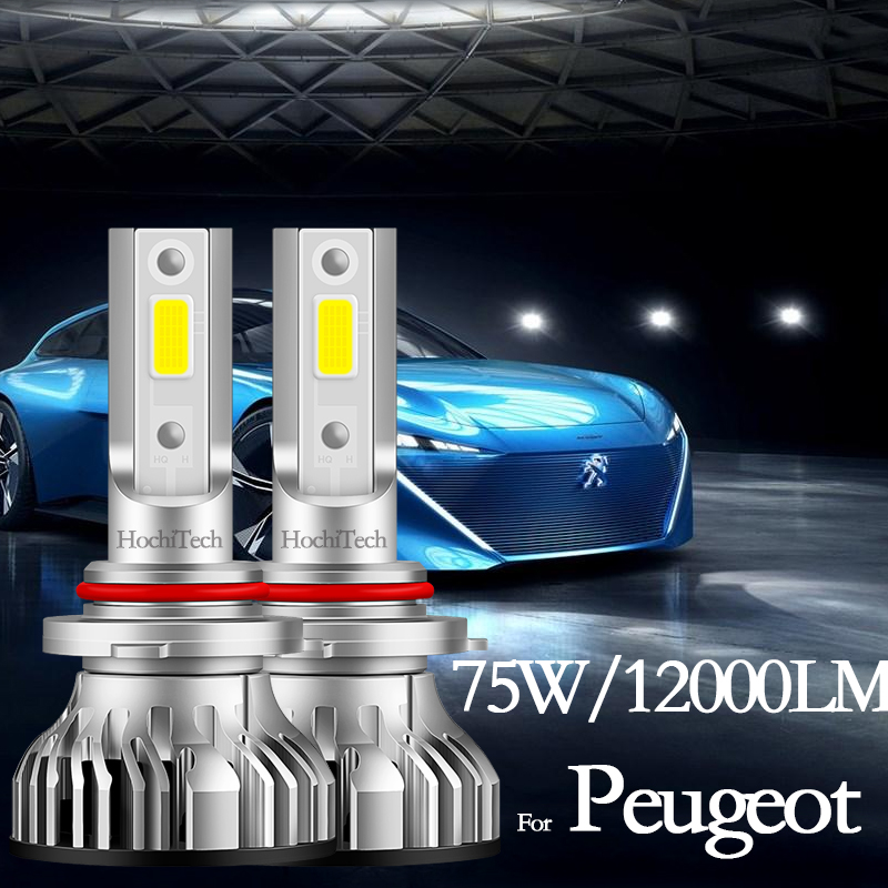 For <font><b>Peugeot</b></font> 108 208 301 307 206 308 408 508 <font><b>2008</b></font> 3008 5008 Partner High Beam Low Beam Headlight Bulbs <font><b>Led</b></font> Fog Light H1 <font><b>H7</b></font> H11 image