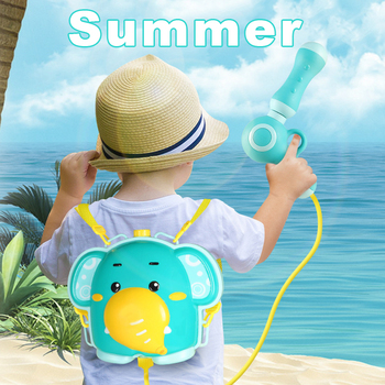 Baby Bath Toys Elephant Chick Backpack Water Guns Pistol Squirt Gun Kids Water Toys Fun Children Bathing Toy Outdoor Beach Toy new 1pc children baby bathing swim toy plastic bath water cup beach play toy