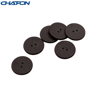 Image 2 - 100pcs High temperature resistant uhf rfid PPS laundry tag small with Alien H3 chip used for laundry management