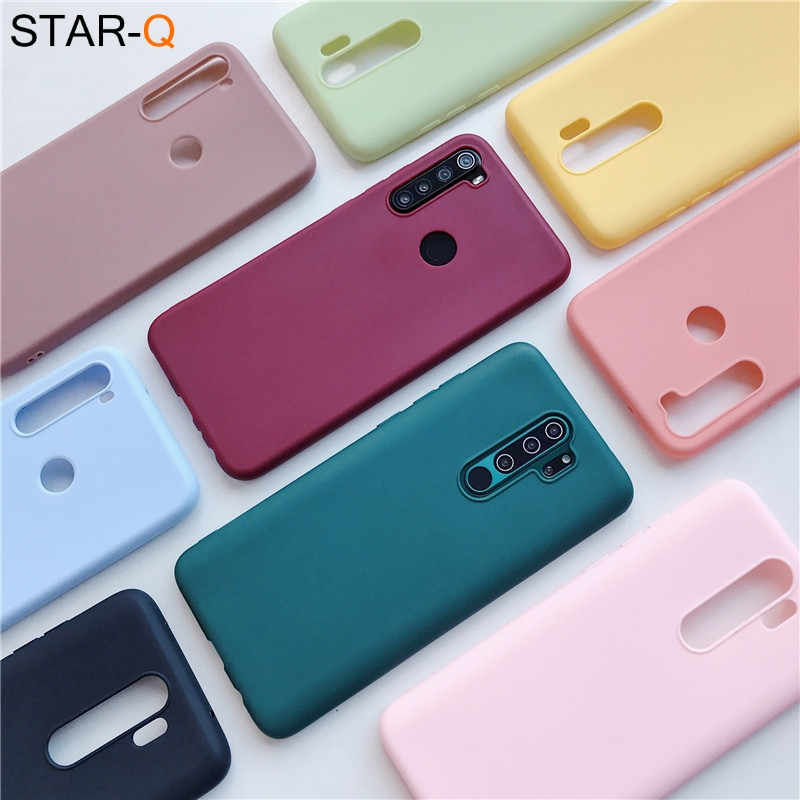 Candy Color Silicone Case For Oppo For Oppo Reno 2 Z 10x Zoom A5 A9 2020 A11x F5 F7 A3s A73 Z5x R15 Matte Soft Tpu Back Cover