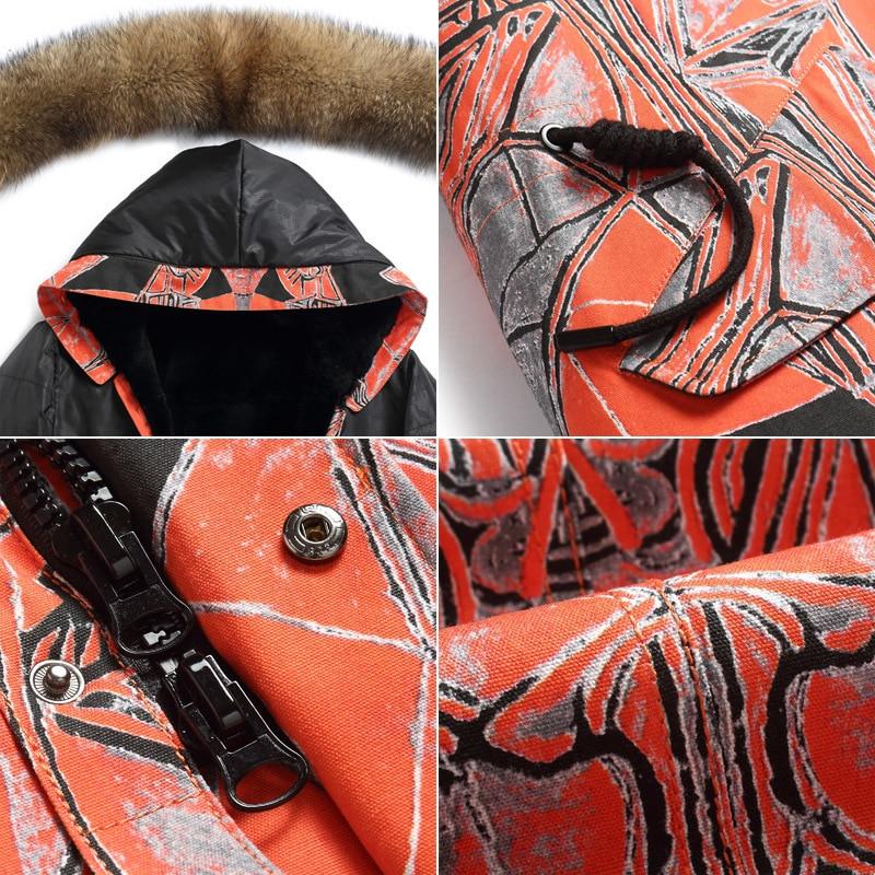 Men's Winter Jacket Real Coat Natural Rabbit Parka Men Clothes 2020 Mens Luxury Fur Warm Jacktes Plus Size NX20 YY232