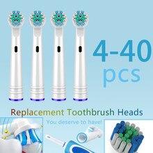 Cabezales de cepillo de dientes oral b reemplazables, boquillas para cepillo dental eléctrico, oral b