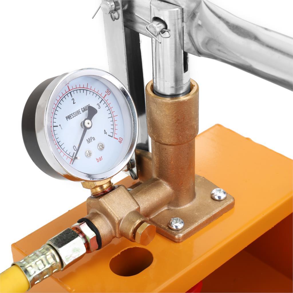 2.5MPa 0-40 кг Тестер давления воды er ручной гидравлический тест давления воды тест трубопровода er испытательный насос с фильтром