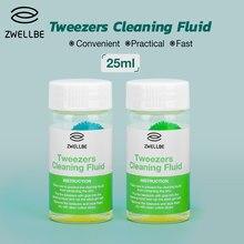 Zwellbe 25 ml cımbız temizleme sıvısı profesyonel kirpik tutkal sökücü sıvı kirpik uzatma kozmetik aracı uygun
