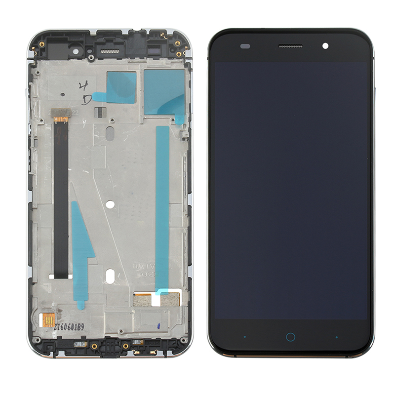 5.0 Original LCD Display for ZTE Blade V6 D6 Z7 X7 T660 T663 LCD Display Touch Screen Digitizer Panel Replacement with Frame image