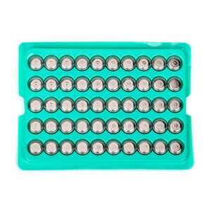 50 шт. 1,5 В щелочная Кнопка Батарея AG10 L1131 SR1130 189 LR54 Бытовая электроника для небольших электронных устройств