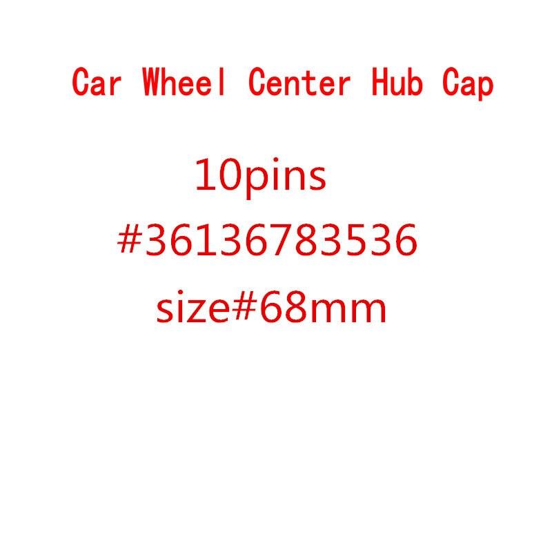 20 штук 68 мм 10 штифтов Центральная втулка колеса автомобиля Шапки крышки обода Шапки Чехлы эмблемы для 1, 3, 5, 7, X3 X5 M3 M5 36136783536
