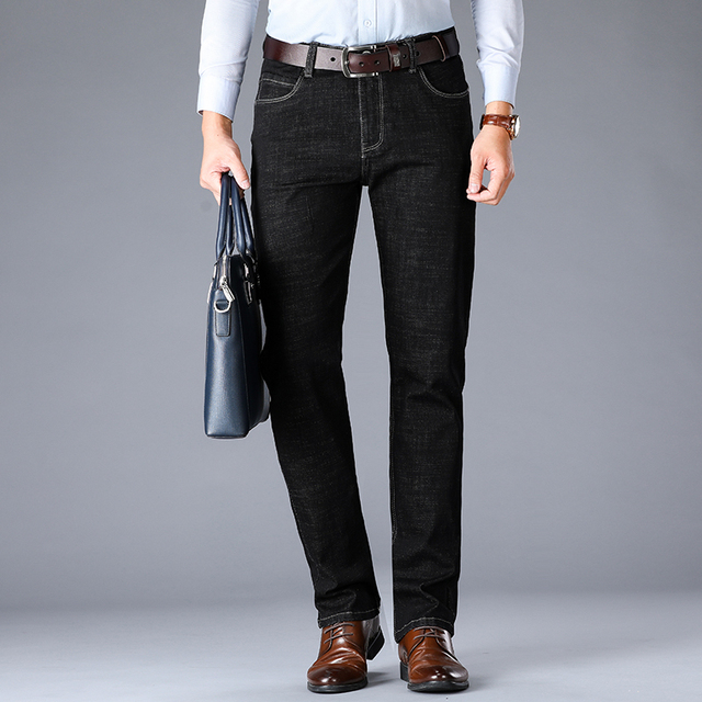 Business Fashion Stretch Jeans 4
