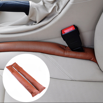 1pcs PU Leather Car Seat Sealing Pad Cover Sewing Pillow Leakage Plug for Lexus Honda Acura RLX CL EL CSX ILX MDX NSX RDX RL