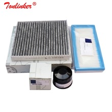 Air Filter+Cabin Filter+Oil Filter 3Pcs For Smart Fortwo 451 Cabrio Coupe 0.8CDI 1.0T 2007 2019 Model Filter Set Car Accessories