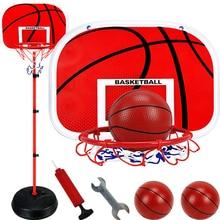 63-165 см регулируемое баскетбольное кольцо стойка для От 1 до 14 лет, Детская уличная игровая площадка для детей