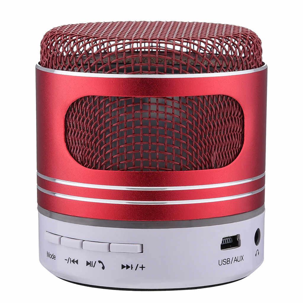 Epula Nirkabel Bluetooth Speaker Mini Speaker Bluetooth USB Lampu LED Portable Nirkabel Musik Fashion Kotak Subwoofer Kecil