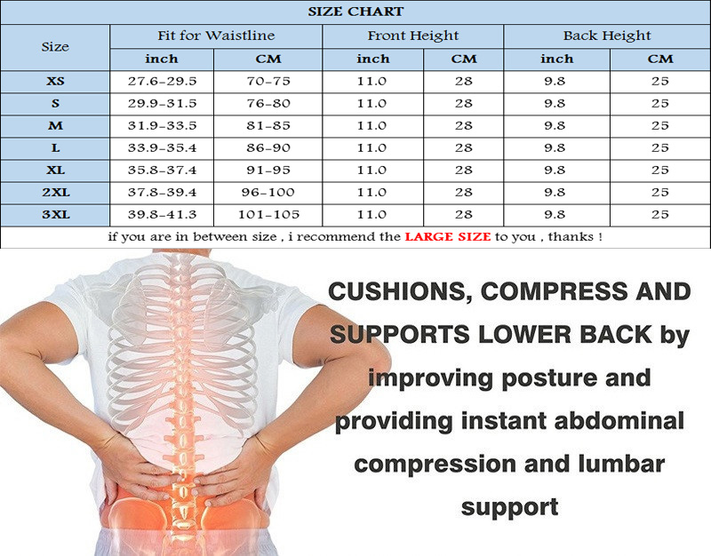 NINGMI Slimming Underwear for Men Waist Trainer Body Shaper Hot Shirt Gridle Neoprene Sauna Male Modeling Belt Weight Loss Strap (15)