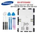 SAMSUNG Оригинальный планшет EB-BT550ABE Аккумулятор 6000 мАч для Samsung Galaxy Tab A 9 7