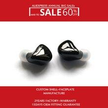 Hisenior באוזן Hifi Custom אוזניות צג B5 10 נואלס מאוזן אבזור נהגים 8Core OCC שדרוג להסרה כבל
