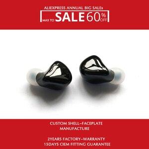 Image 1 - Hisenior auriculares internos Hifi con Monitor personalizado, controlador de armadura equilibrada B5 10 knoples, 8 núcleos, Cable desmontable actualizado OCC