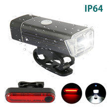 12000LM USB Rear Light Adjustable Bicycle 3000mAh Rechargeable Waterproof Bike Headlight Lamp with Taillight Accessories