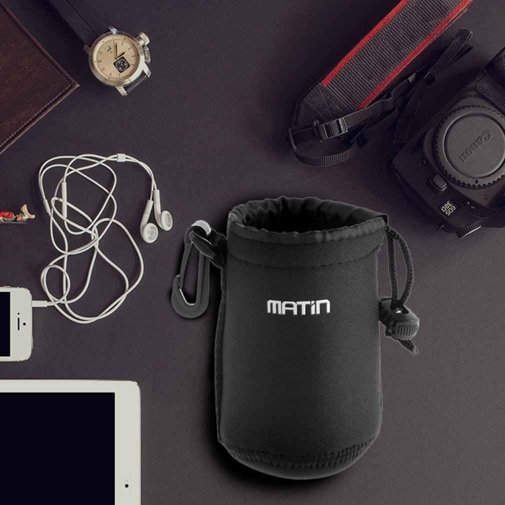 Tebal 3 Mm (Kira-kira) Neoprene Belt Loop Di Seluruh Dunia Matin Neoprene Lembut Lensa Kamera Waterproof Case Tas Kantong Promosi