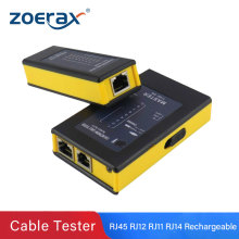 Zoerax Rechargeable Network Cable Tester RJ45 RJ11RJ12 Network LAN Ethernet RJ45 Cable Tester LAN Networking Tool network Repair