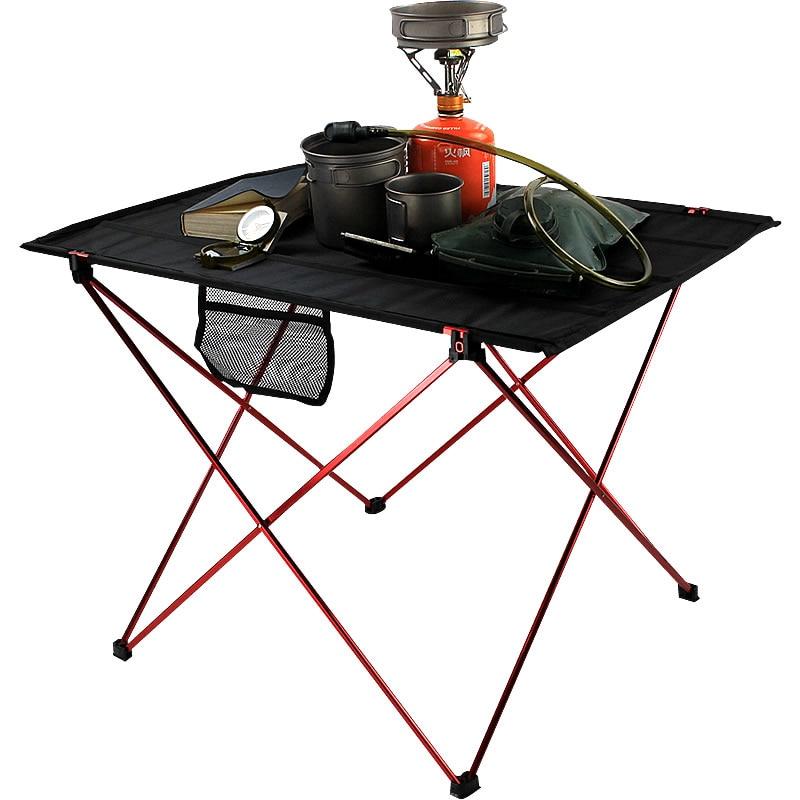 Desk Folding-Table Outdoor Picnic Aluminium-Alloy Camping Ultra-Light 6061 Hot-Sale