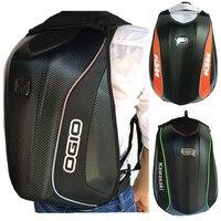 Ogio Backpack Knight Helmet Backpack Kawasaki Waterproof Motorcycle Hard Case Turtle Bag KTM Backpack Rides Luggage