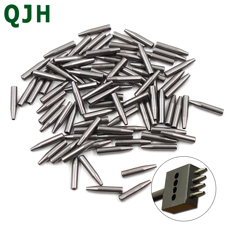 Leather Hole Punches Accessories DIY Hand Perforated Round Leather Stitching Punch Tools Supplies Hole Punching Nail
