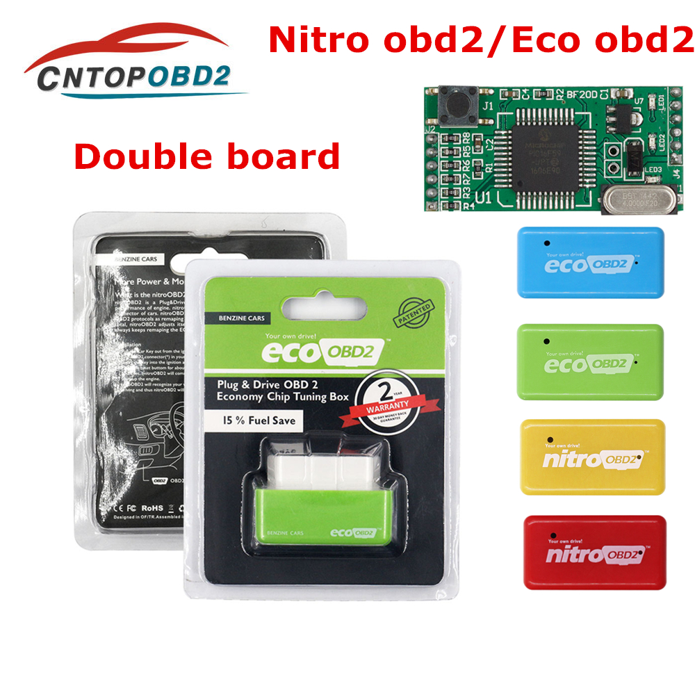 Eco OBD2 Drive Performance Chip 15/% Fuel Save Tuning Box for Diesel Car Saver