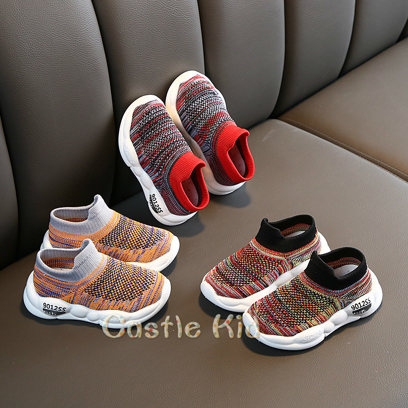 Kids Shoes Sneakers Soft-Sole Non-Slip Toddler Girls Infant Baby Boys Breathable Casual