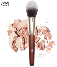 1PCS Big Powder Soft Synthetic Hair Highlight Single Makeup Brushes Wood Handle Professional YA136