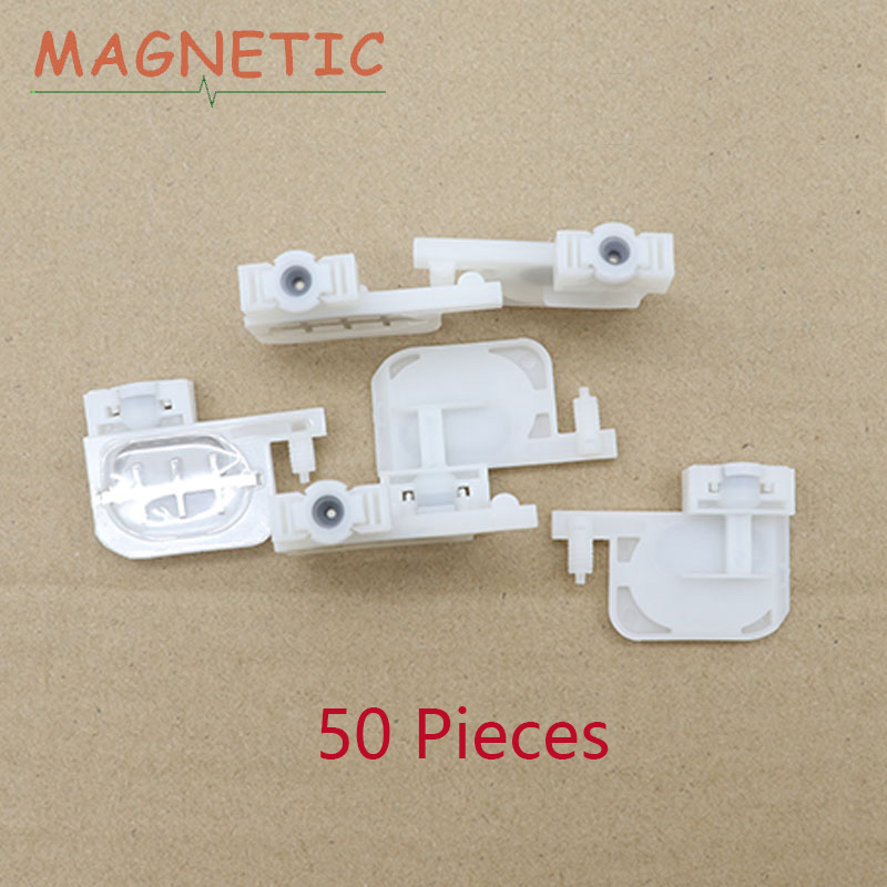 50pcs small ink Damper square head for Epson R1800 1900 1390 2400 1100 DX4 DX5 printers Eco solvent for Roland Mutoh Mimaki(China)