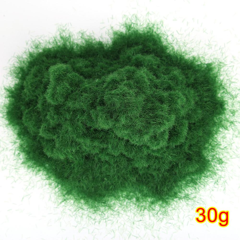 30g Artificial Grass Powder DIY Railway Model Sand Table Model Decor Model Building Accessories Toys Hobbies For Kids Adult 2019