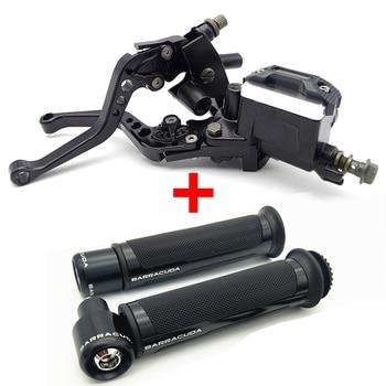 Motorcycle Break Clutch Lever&Handlebar Grip Accessories For HONDA integra 750 cbr600f4i c90 msx 125 cbr 600rr cbr 900 rr