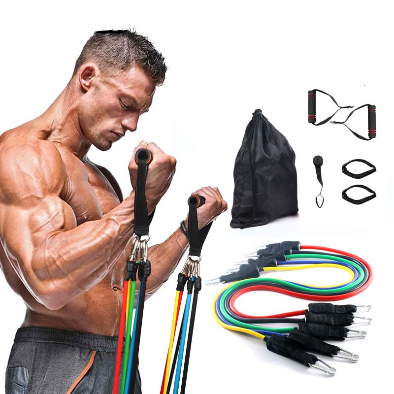 Pull Rope Workout Bands Resistance Bands Latex Tubes Pedal Excerciser Crossfit Fitness Bodybuilding Elastic Bands For Fit