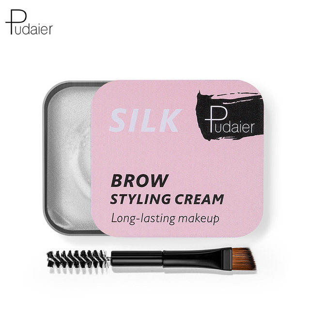 3D Feathery Eyebrow Cosmetic Gel Enhancer Balm Styling  Eyebrows Tint Pomade Waterproof Brows Long Lasting Natural Makeup TSLM1 2