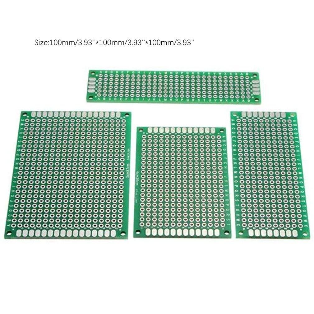 Купить с кэшбэком 40pcs FR-4 2.54mm Double Side Prototype PCB Printed Circuit Board;
