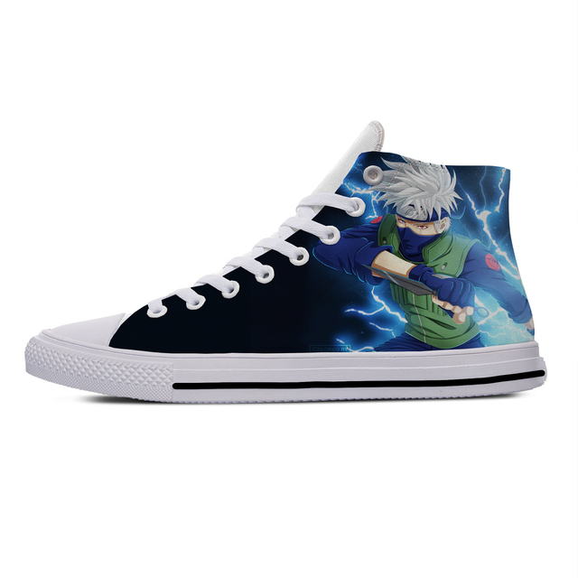 KAKASHI THEMED HIGH TOP SHOES (5 VARIAN)