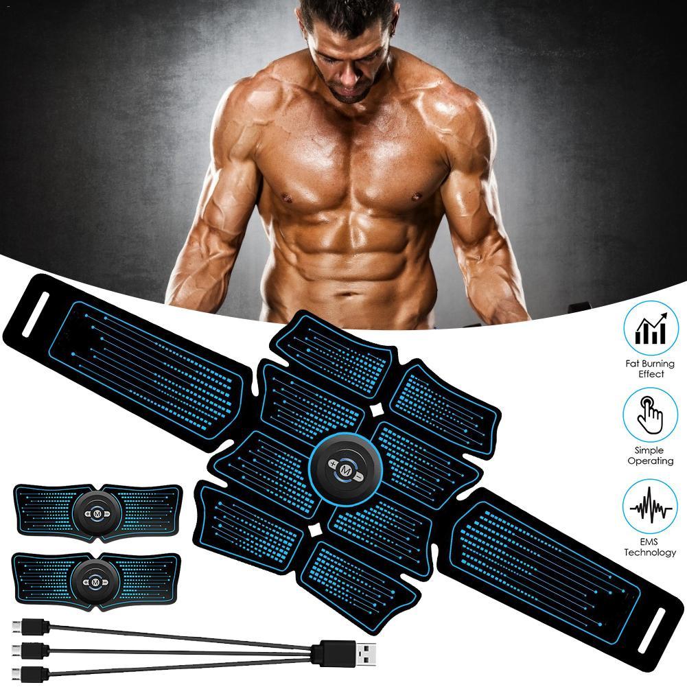 Muscle Stimulator ABS Hip Trainer Abdominal Belt Electrostimulator Muscular Exercise Home Gym Equipment Electrostimulation 40p