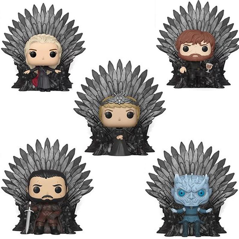 FUNKO Game of Thrones Night s King Jon Snow Drogon Tyrion Action Figure Collectible Model Christmas