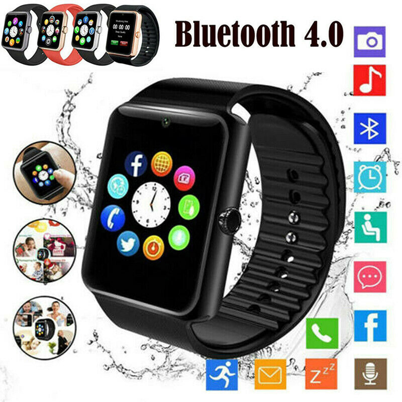 <font><b>Smart</b></font> <font><b>Watch</b></font> <font><b>GT08</b></font> <font><b>Plus</b></font> <font><b>Metal</b></font> Strap Support Camera SIM TF Card Bluetooth Compatible For Android image