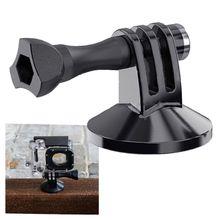 Universele Magneet Metalen Statief Mount Adapter Magnetische Houder Voor Gopro Hero5 4 3 + Sjcam Sj400 Xiaomi Yi 4K cam Accessoires