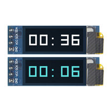 "10pcs  0.91 inch OLED module  0.91"" white OLED 128X32 OLED LCD LED Display Module 0.91"" IIC Communicate D24"